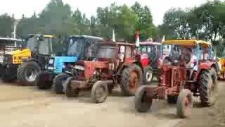 3 Belarus MTZ Race in Hungary