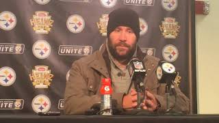 Ben Roethlisberger gave halftime speech to Steelers offense vs. Tennessee Titans