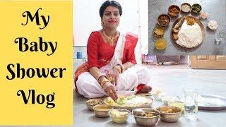 My Traditional Bengali Baby Shower Vlog    makeUbeautiful