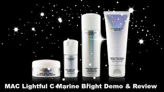 MAC Lightful C Marine Bright Demo and Review March 2015