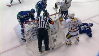 Intent to blow whistle denies Predators goal in Vancouver