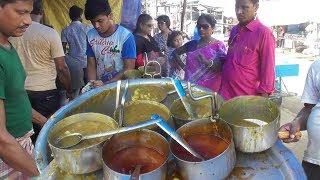 Crazy Breakfast | Crowd Enjoying Cheap But Tasty Street Food