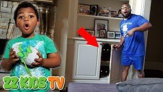 THE BABY SECRET ROOM MONSTER EGG HATCHED IN OUR DISHWASHER! Vlogskit