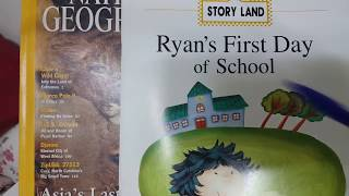 [English book] Ryan's first day of school #1 / reading