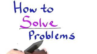 怎样解决问题