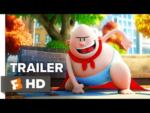 Captain Underpants The First Epic Movie Trailer 1 2017 Movieclips Trailers