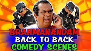 Dangerous Khiladi 2 (Brahmanandam) Back To Back Comedy | South Indian Hindi Dubbed Best Comedy