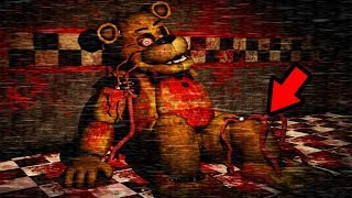 THE NIGHTGUARD GOT STUFFED INTO GOLDEN FREDDY?! | Five Nights at Freddys Golden Memory