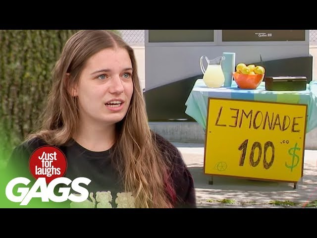 Lemonade PRANKS | Best of Just For Laughs Gags