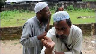 Blind beggar in Bangladesh Sylhet Singing Bangla Song