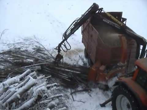 FARMI CH260HFEL energy wood chipper