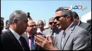 وزير النقل يتفقد المراكب النيلية