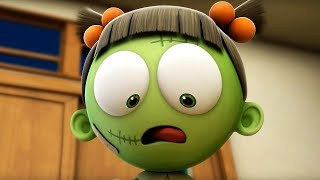 Funny Animated Cartoon | Spookiz | What are you up to Zizi?!  | 스푸키즈 | Cartoon For Children