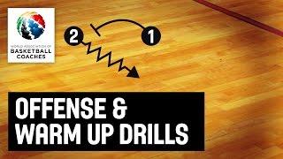 Offense & Warm Up Drills - Bryan Gates - Basketball Fundamentals