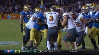 ASU RB Kalen Ballage 'Rugby Scrum' TD Ices Win Over UCLA | CampusInsiders