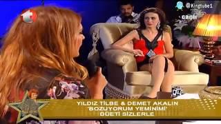 Demet Akalın & Yıldız Tilbe - Bozuyorum Yeminimi (Yıldız Tilbe Show - 28 Mayıs 2013)