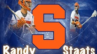 Randy Staats Syracuse Lacrosse Highlights