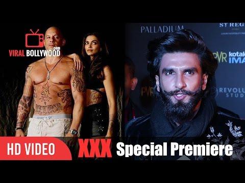 Ranveer Singh Review on XXX | Vin Diesel, Deepika Padukone, D.J Caruso | XXX Premiere Show