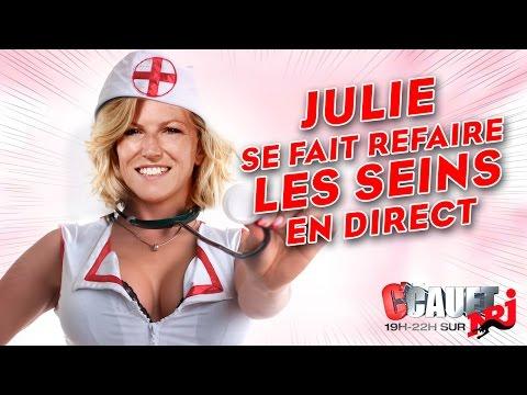 Xxx Mp4 Julie Se Fait Refaire Les Seins En Direct C'Cauet Sur NRJ 3gp Sex