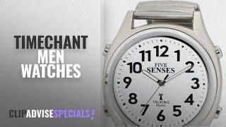 10 Best Selling Timechant Men Watches [2018 ]: ATOMIC! Talking Watch - Sets Itself FIVE SENSES