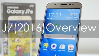 Samsung Galaxy J7 (2016) Indian Variants Unboxing & Overview
