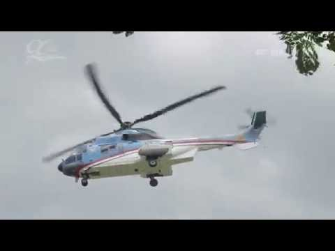 Detik-detik Landing Test 2 Heli di UNIDA Gontor