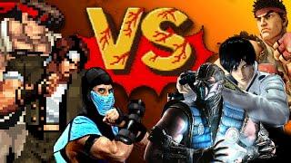 2D vs 3D - Qual é o melhor para Jogos de Luta?