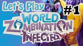 World Zombination - Infected Part #1 BRAINS !!! (iOS, PC, Android, MAC Early Access)
