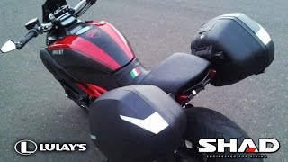 Project Diavel - SHAD Hard Bags Installation on Ducati Diavel