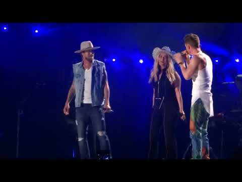 Xxx Mp4 Florida Georgia Line And Bebe Rexha Sing Quot Meant To Be Quot Live At CMA Fest 3gp Sex