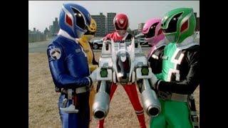 "Power Rangers S.P.D. - Power Rangers vs Rhinix | Canine Cannon | Episode 5 ""Dogged"""