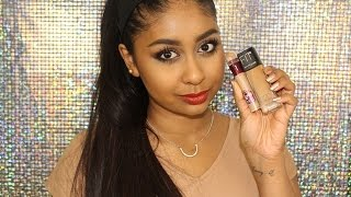 Maybelline Fit Me Foundation & Instant Age Rewind Concealer: First Impression & Review!
