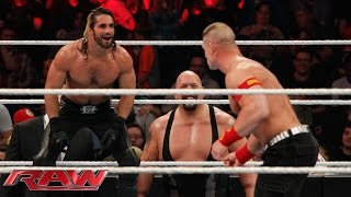 John Cena vs. Seth Rollins - Lumberjack Match: Raw, January 12, 2015