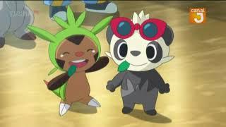 Pokémon saison 19 épisode 47 VF(SERENA EMBRASSE SACHA!!!!)