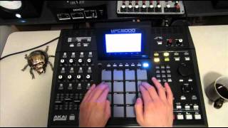 Spinscott - Live MPC 5000 Drumming - Freestyle Jungle / DnB (#2)