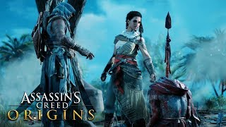 ASSASSIN'S CREED ORIGINS All Cutscenes Movie (Xbox One X)