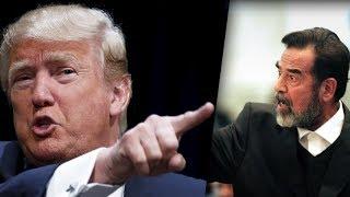 دونلد ترامب يكشف اسرار عن صدام حسين لما يجراء احد ان يذكرها من قبل