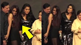 Kajol Pushes Little Anjali Aka Sana Saeed At Kuch Kuch Hota Hai 20 Years Celebration