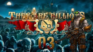 THEY ARE BILLIONS | SWARM SURROUND #03 Zombie Strategy - Let