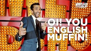 Americans get OWNED! Stand Up Comedy Imran Yusuf