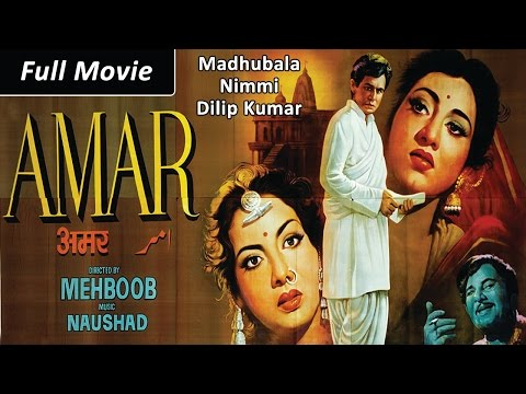 Download Amar (1954) Full Movie | Dilip Kumar, Madhubala, Nimmi | Classic Hindi Films by MOVIES HERITAGE