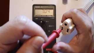 ✅ Uso Multimetro (Polimetro), Medir Voltaje alterno y directo