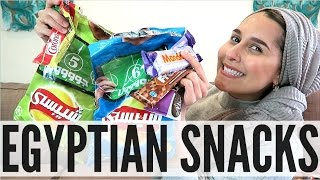 TRYING EGYPTIAN SNACKS