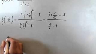 Fonction numérique et calcul d'images de nombre