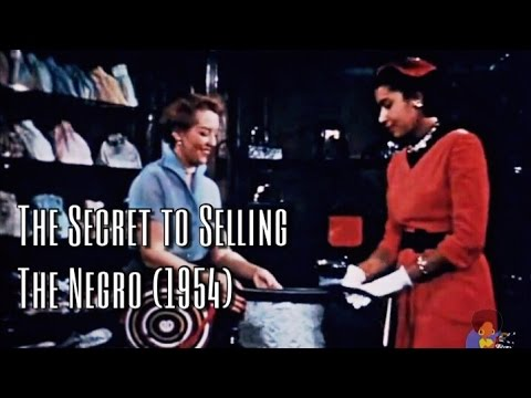 Xxx Mp4 THE SECRET OF SELLING THE NEGRO 1954 3gp Sex