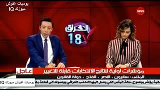 عاجل و بالأرقام النتائج الاولية للانتخابات النيابية العراقية 2018