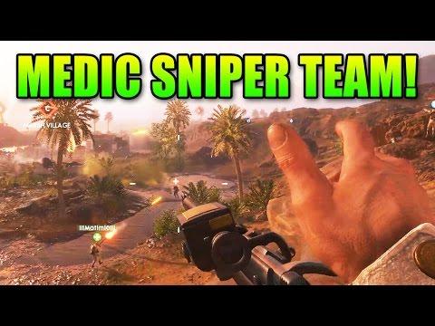 watch Battlefield 1 Medic Sniper Team!   BF1 Gameplay