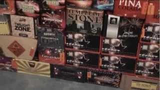 Fireworks Collection Film 2011-2012 HD Music ABBA Happy New Year Vuurwerk Collectie Film