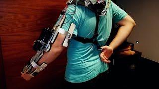 Exo-Skeleton Robotic Arm for $100