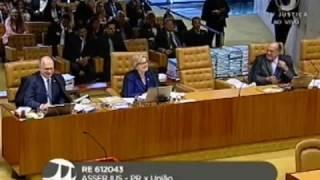 """Cármen Lúcia, do STF, dá bronca em Luiz Fux por interromper Rosa Weber"""""""
